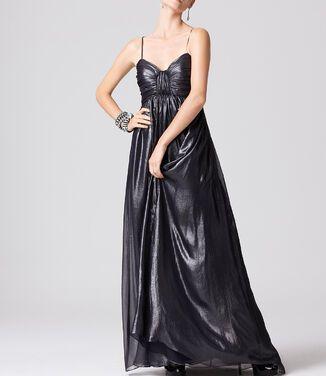 Платья Aidan Mattox , Silver Metallic D напрокат | Аренда и прокат – Москва