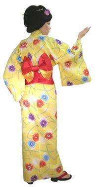 Национальные костюмы Гейша желтая напрокат | Аренда и прокат – Москва