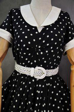 Разное Ретро платье в горошек напрокат | Аренда и прокат – Москва