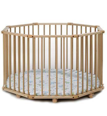 Кроватки и манежи Детский деревянный манеж Octo-Parc напрокат   Аренда и прокат – Москва