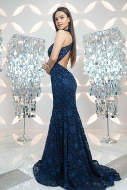 Платья Вечернее платье русалка La Femme напрокат | Аренда и прокат – Санкт-Петербург