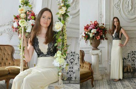 Платья Платье с открытой спиной напрокат | Аренда и прокат – Санкт-Петербург