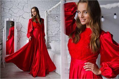 Платья Красное платье напрокат | Аренда и прокат – Санкт-Петербург