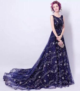 Платья Синее вечернее платье напрокат | Аренда и прокат – Санкт-Петербург