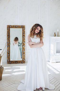 Платья Белое вечернее платье на выпускной напрокат | Аренда и прокат – Санкт-Петербург
