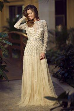 Платья  Вечернее платье JOVANI JVN005 напрокат | Аренда и прокат – Москва