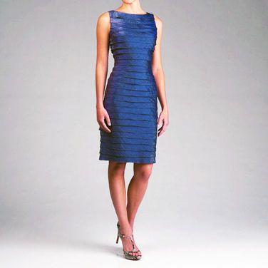 Платья Adrianna Papell , Dress Blue Tie напрокат | Аренда и прокат – Москва