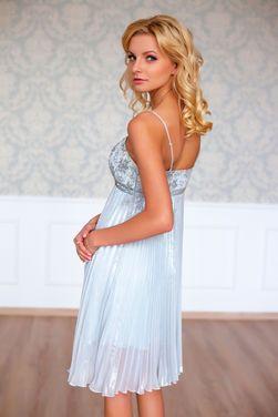 Платья Серебристое платье напрокат | Аренда и прокат – Санкт-Петербург