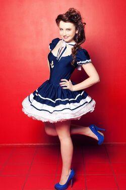 Униформа Платье Морячка Синяя напрокат | Аренда и прокат – Москва