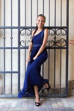Платья Original Dark Blue Evening Dress напрокат | Аренда и прокат – Краснодар