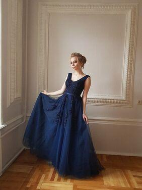 Платья Синее фатиновое платье напрокат | Аренда и прокат – Санкт-Петербург