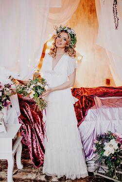 Платья Свадебное платье из шифона напрокат | Аренда и прокат – Санкт-Петербург