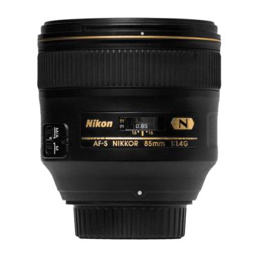 Фотообъективы Nikon 85mm f/1.4G AF-S Nikkor напрокат | Аренда и прокат – Санкт-Петербург