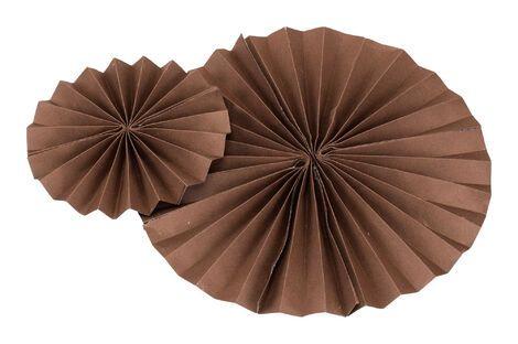 Другое Набор из 5 вееров коричневого цвета напрокат   Аренда и прокат – Санкт-Петербург