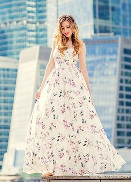 Платья Flowers Evening Dress New напрокат | Аренда и прокат – Краснодар