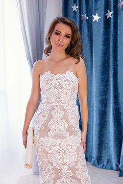 Платья Шикарное свадебное кружевное платье напрокат   Аренда и прокат – Москва