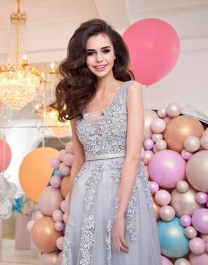 Платья Потрясающее серебряное платье напрокат | Аренда и прокат – Москва