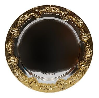 Тарелки  Тарелка подстановочная «Падишах» напрокат | Аренда и прокат – Санкт-Петербург