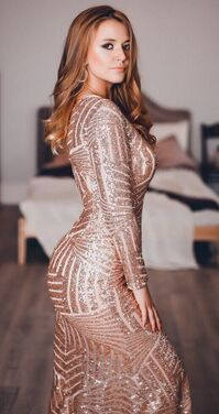 Платья Розовое платье в пайетках  095 напрокат | Аренда и прокат – Москва