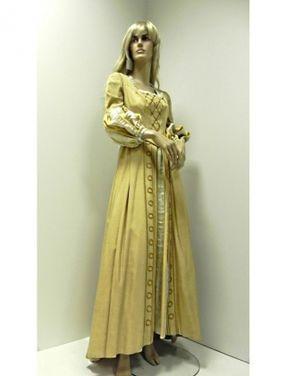 Исторические костюмы Платье средневековья. Лимонное напрокат | Аренда и прокат – Москва