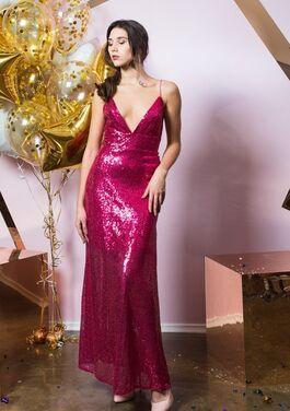 Платья Платье в пайетках на бретелях напрокат | Аренда и прокат – Санкт-Петербург