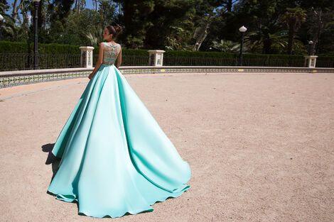 Платья Бирюзовое вечернее платье  напрокат | Аренда и прокат – Санкт-Петербург
