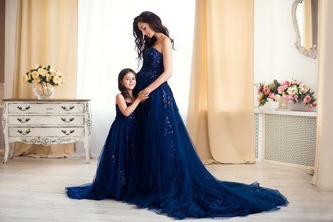 Платья и одежда для девочек Детское Платье Темная Ночь напрокат | Аренда и прокат – Москва