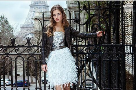 Платья Young Couture серебряное  напрокат | Аренда и прокат – Москва