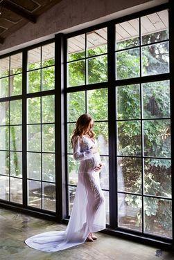 Платья Нежное белое платье с вышивкой напрокат | Аренда и прокат – Москва
