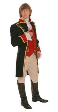 Исторические костюмы Мундир Наполеона черный напрокат | Аренда и прокат – Москва