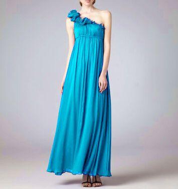 Платья Aidan Mattox , Blue Dress Padded напрокат | Аренда и прокат – Москва