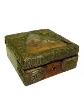 Ящики и чемоданы Шкатулка деревянная с бронзовой отд напрокат | Аренда и прокат – Москва