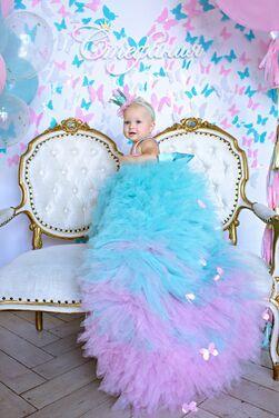 "Другое платье ""Тиффани"" 1-2 годика напрокат | Аренда и прокат – Санкт-Петербург"