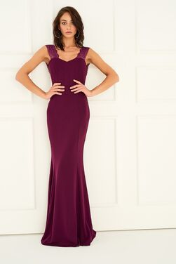 Платья Фиолетовое вечернее платье-русалка напрокат | Аренда и прокат – Санкт-Петербург