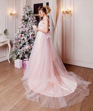 Платья Нежно-розовое пышное платье напрокат | Аренда и прокат – Санкт-Петербург