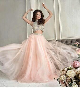 Платья Розовое платье двойка с топом напрокат   Аренда и прокат – Москва