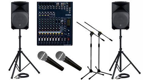 Звук Звуковое оборудование напрокат | Аренда и прокат – Москва