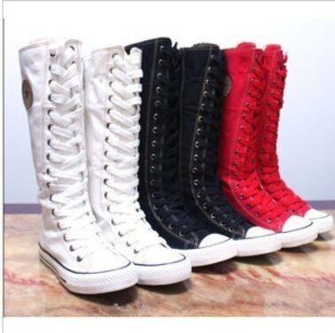 Обувь Высокие черные кеды на шнуровке напрокат | Аренда и прокат – Москва