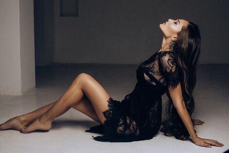Платья Черное будуарное платье напрокат | Аренда и прокат – Санкт-Петербург