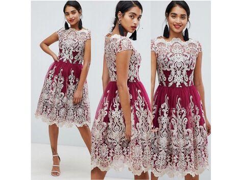 Платья Красивое платье расшитое кружевом напрокат | Аренда и прокат – Москва