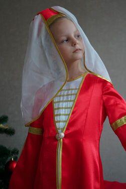 Национальные Адыгейский костюм для девочки напрокат | Аренда и прокат – Санкт-Петербург