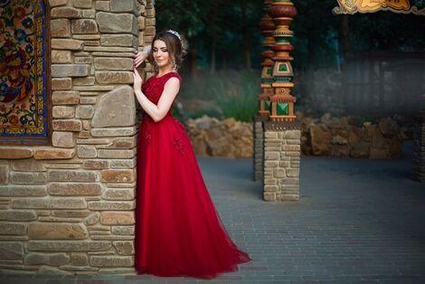 Платья Красное(бордовое) платье напрокат | Аренда и прокат – Санкт-Петербург