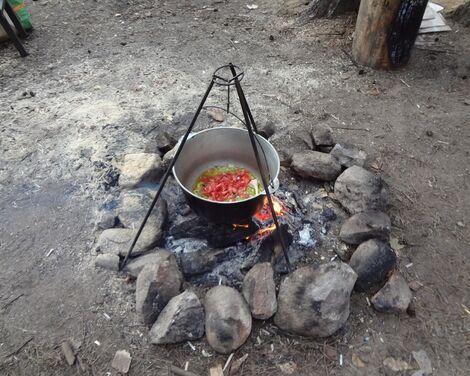 Охота и рыбалка Тренога под казан или чайник напрокат | Аренда и прокат – Москва