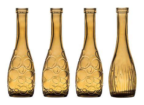 Банки и бутылки Набор из 4 бутылей «Земфира» янтарн напрокат | Аренда и прокат – Санкт-Петербург