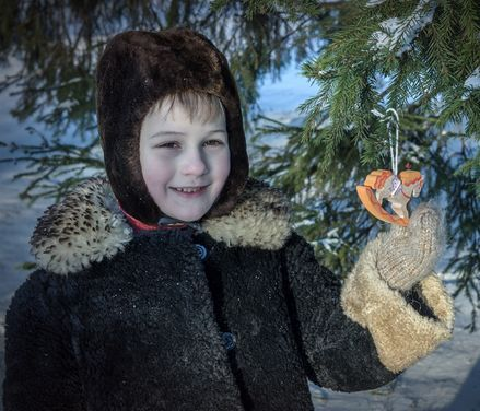 Другое Шуба мутоновая на мальчика 4-5 лет  напрокат | Аренда и прокат – Санкт-Петербург