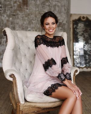 Платья Коктейльное розовое платье NISSA напрокат | Аренда и прокат – Москва