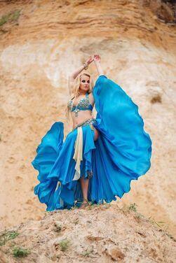 Танцевальные костюмы Костюм для танца живота  напрокат | Аренда и прокат – Москва