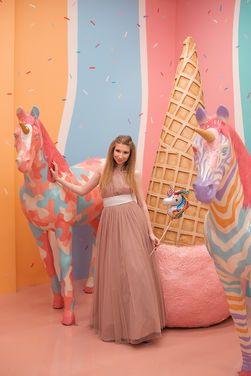 Платья Розовое пыльное шифоновое в пол  напрокат | Аренда и прокат – Санкт-Петербург