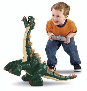 Игрушки Динозавр на д/у Spike  Fisher Price напрокат | Аренда и прокат – Москва