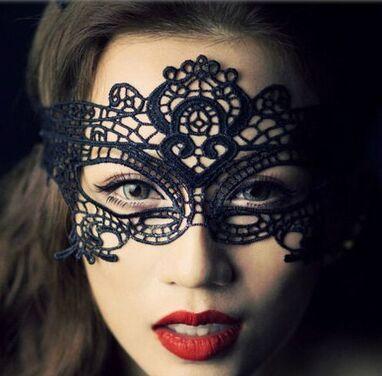 Аксессуары Черная ажурная маска напрокат | Аренда и прокат – Санкт-Петербург
